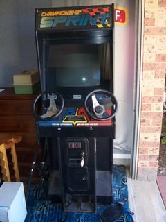 Atari Chapionship Sprint